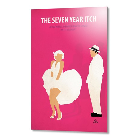 """The Seven Year Itch // Aluminum (16""""W x 24""""H x 0.2""""D)"""