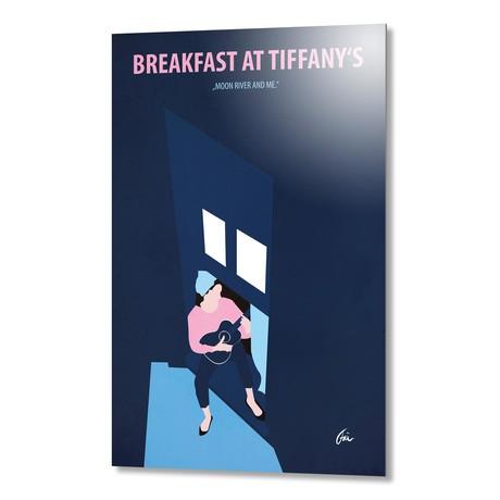 """Breakfast at Tiffany's // Aluminum (16""""W x 24""""H x 0.2""""D)"""