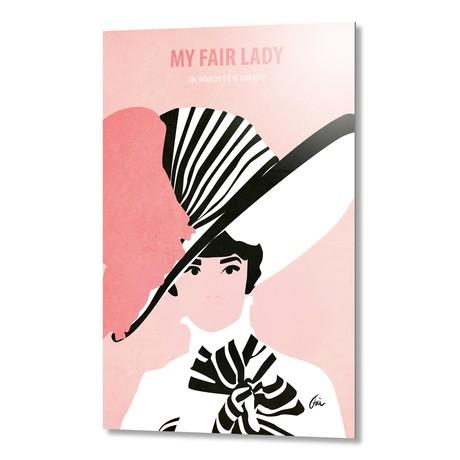 "My Fair Lady // Aluminum (16""W x 24""H x 0.2""D)"