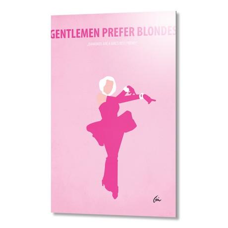 "Gentlemen Prefer Blondes // Aluminum (16""W x 24""H x 0.2""D)"