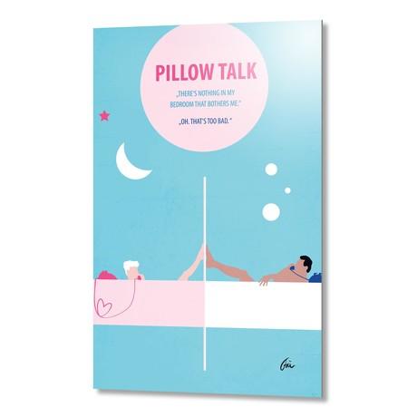 "Pillow Talk // Aluminum (16""W x 24""H x 0.2""D)"