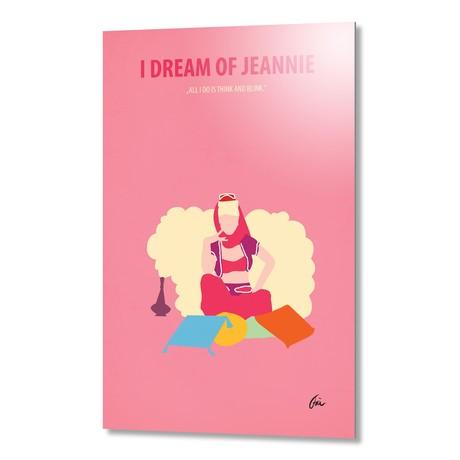 "I Dream of Jeannie // Aluminum (16""W x 24""H x 0.2""D)"