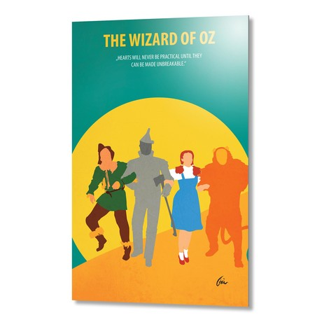 "The Wizard of Oz // Aluminum (16""W x 24""H x 0.2""D)"