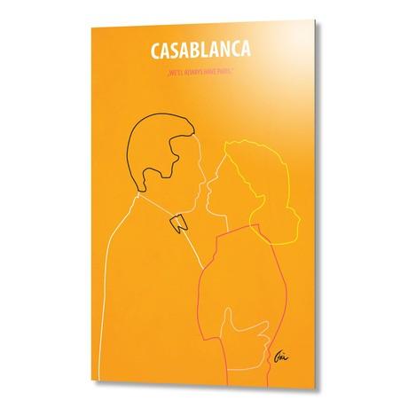 """Casablanca // Aluminum (16""""W x 24""""H x 0.2""""D)"""
