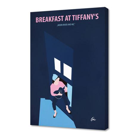 """Breakfast at Tiffany's // Canvas (16""""W x 24""""H x 1""""D)"""