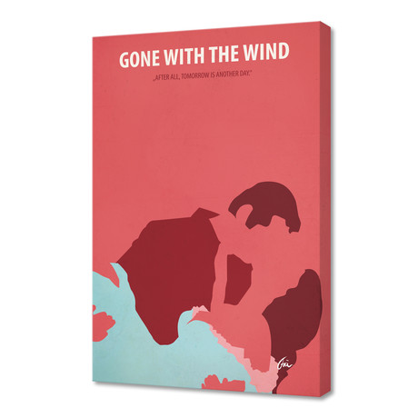 """Gone with the Wind 01 // Canvas (16""""W x 24""""H x 1""""D)"""