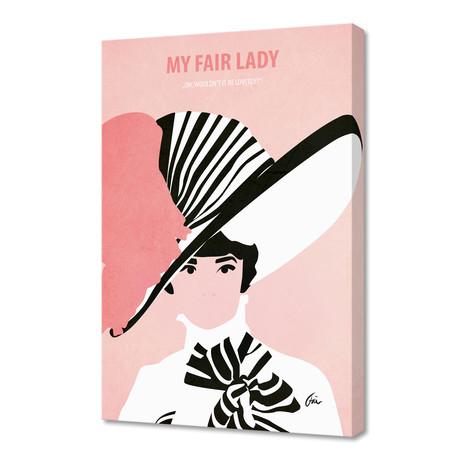 "My Fair Lady // Canvas (16""W x 24""H x 1""D)"