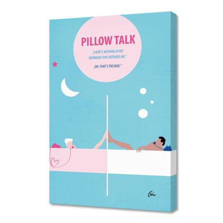"Pillow Talk // Canvas (16""W x 24""H x 1""D)"