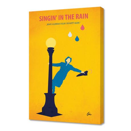 "Singin' in the Rain // Canvas (16""W x 24""H x 1""D)"