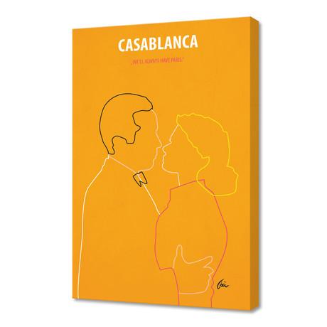 "Casablanca // Canvas (16""W x 24""H x 1""D)"