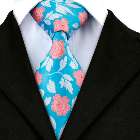 Arthur Handmade Tie // Light Blue