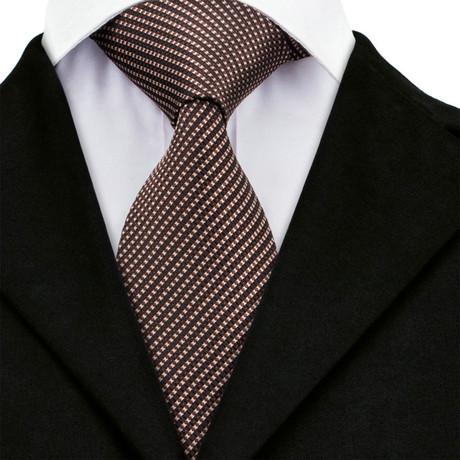 Oscar Handmade Tie // Brown