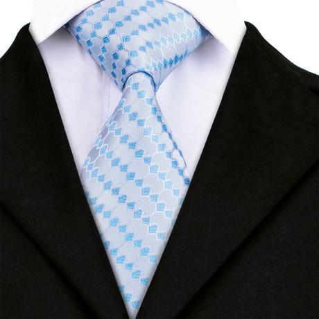 Noe Handmade Tie // Light Blue