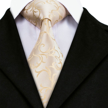 Nathan Handmade Tie // Tan
