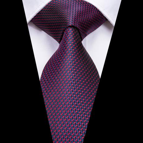 Westwood Handmade Silk Tie // Navy + Red