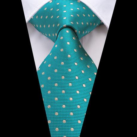 Noe Handmade Tie // Teal