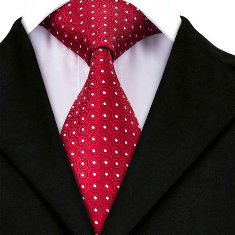 Rayan Handmade Tie // Red