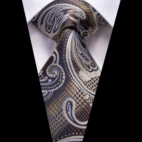 Jacque Handmade Tie // Champagne