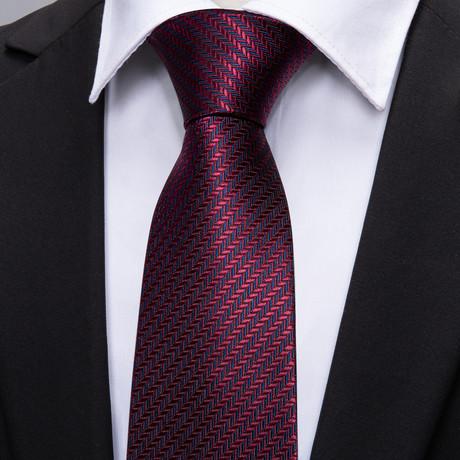 Chance Handmade Tie // Burgundy