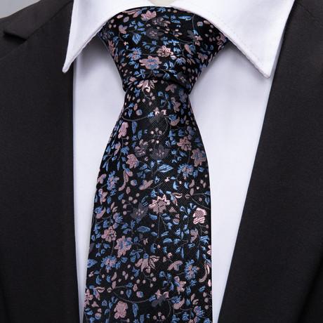 Bale Handmade Tie // Black + Blue
