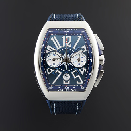 Franck Muller Yachting Chronograph Automatic // 45CCYACTBLU