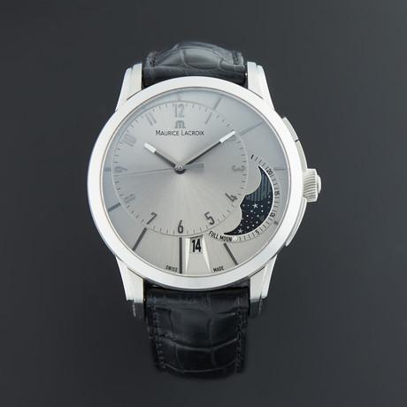 Maurice Lacroix Pontos Decentrique Phase de Lune Automatic // PT6318-SS001-130 // Pre-Owned