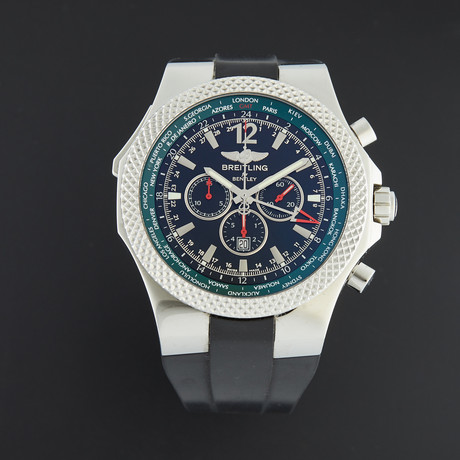 Breitling Bentley GMT Chronograph Automatic // A47362 // Pre-Owned