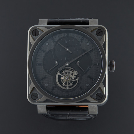 Bell & Ross Aviation Tourbillon Phantom Manual Wind // BR01-TOURB-PHANTOM // Unworn