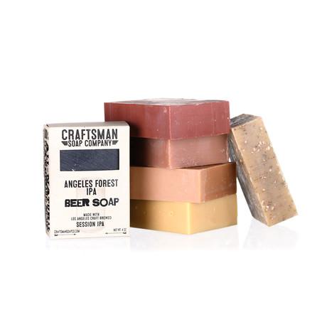 6-Bar Beer Soap Bundle