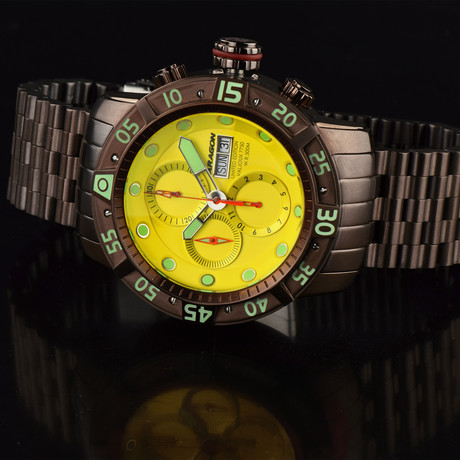 Aragon Watch Gauge Automatic // A321YEL
