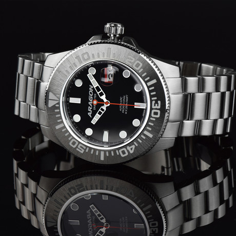 Aragon Watch Divemaster II Automatic // A335BLK
