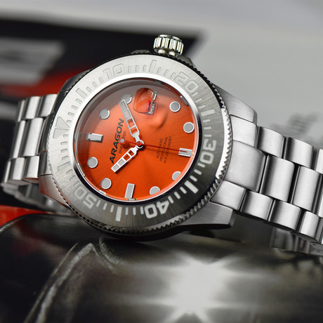 Aragon Watch Divemaster II Automatic // A335ORG