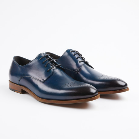 Lace Up European Oxford // Navy (US: 7)