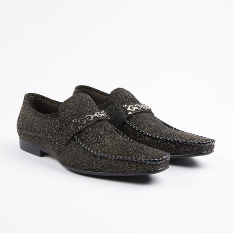 Slip On Bit Loafer // Black (US: 7)