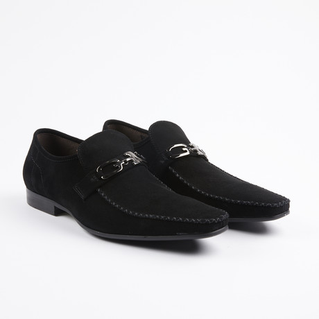 Geraint Moc Toe Loafers // Black (US: 6.5)