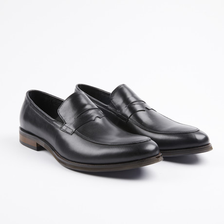 Premium Leather Dress Shoe // Black (US: 7)