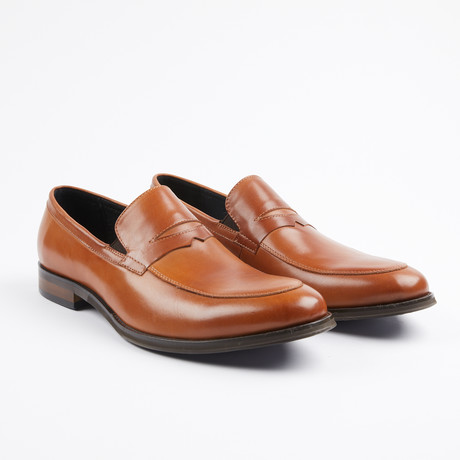 Premium Leather Dress Shoe // Tan (US: 7)