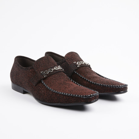 Slip On Bit Loafer // Burgundy (US: 7)