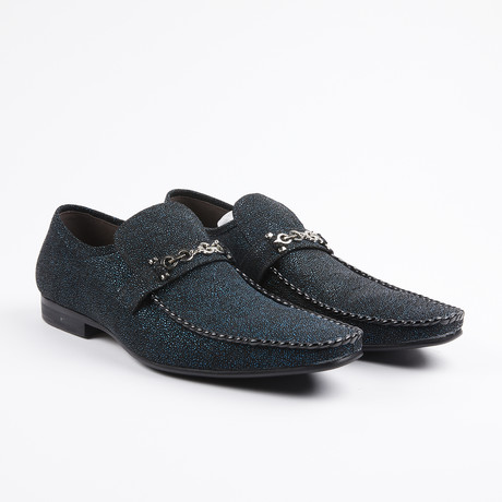 Slip On Bit Loafer // Navy (US: 7)
