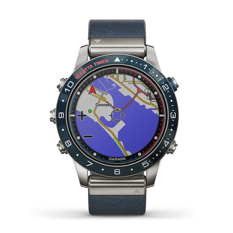 Garmin MARQ Captain Modern Tool Quartz // 010-02006-06