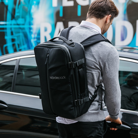 Nordepack // Includes Rain Cover (No Shoulder Strap)