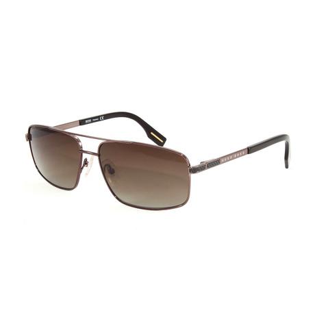 Hugo Boss // Men's Polarized 426PS Sunglasses // Brown