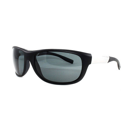 Hugo Boss // Men's Polarized 606PS Sunglasses // Black Palladium