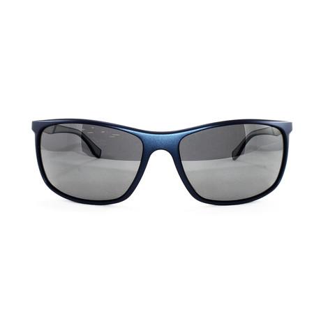 Men's Polarized 707PS Sunglasses // Blue + Matte Palladium