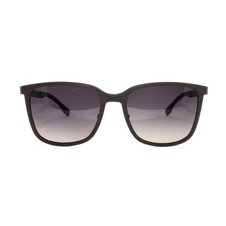 Men's 723S Sunglasses // Brown + Dark Ruthenium