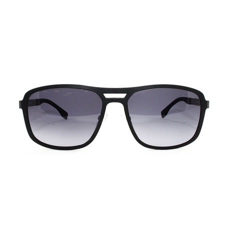 Men's 724S Sunglasses // Black Dark + Ruthenium