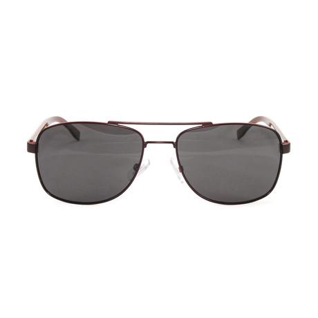 Men's Polarized 0762S Sunglasses // Matte Brown
