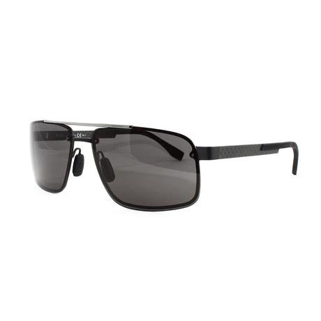 Hugo Boss // Men's 773S Sunglasses // Matte Black + Carbon