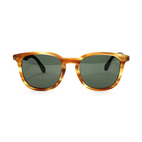 Men's 843S Sunglasses // Honey Brown + Green