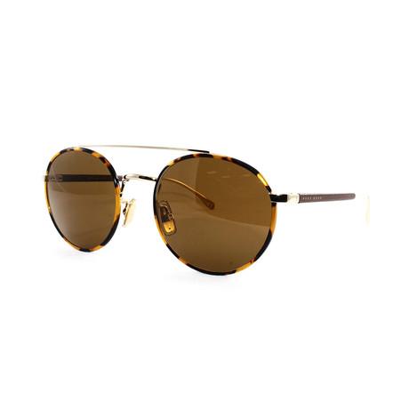 Hugo Boss // Men's 886VS Sunglasses // Gold